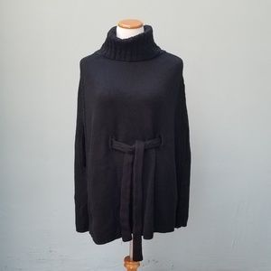 White House Black Market Poncho Sweater